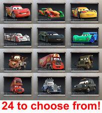 New Disney Cars Fridge Magnets, McQueen, Mac, Mater, Hamilton, Queen etc u pick