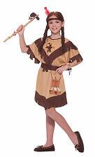 Girls Native American Indian Princess Costume