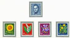 SWITZERLAND - 1961 Pro Juventute complete set of 5 stam