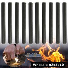 Lots Huge 1/2 x 5 Ferrocerium Rod Flint Fire Starter Magnesium Outdoor Camping
