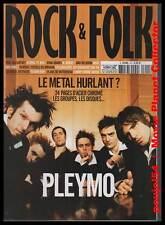 "ROCK & FOLK  #414 ""PLEYMO, Paul McCartney, Ryan Adams, Bad Religion,Motörhead..."