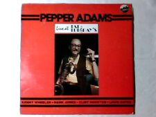 PEPPER ADAMS Live at Fat Tuesday's lp USA KENNY WHEELER HANK JONES RARISSIMO