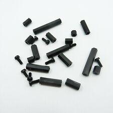 10mm NERO NYLON RONDELLA DISTANZIALE in plastica per adattarsi m10 Bulloni /& VITI NUOVI CONFEZIONE DA 10