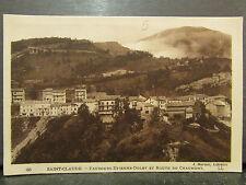 cpa 39 saint claude faubourg etienne dolet route de chaumont