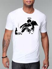 Banksy Street Art Camiseta Diseño perdido la esperanza