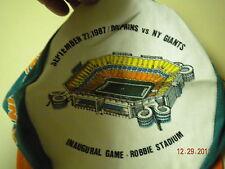 MIAMI DOLPHINS INAUGURAL JOE ROBBIE STADIUM CAP 9/27/1987 !!!