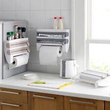 Kitchen Roll Holder Foil Film Kitchen Towel Foil Dispenser Wall Mounted  AUSTOCK