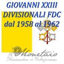(Monetaio) Vaticano - Divisionali dal 1959 al 1962 Giovanni XXIII FDC Lire Argen