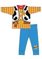 Boys Kids Character Toy Story Woody Pyjamas PJs Nightwear Cotton Disney Novelty