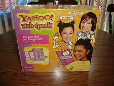 Yahoo Web Speak Game – Brand New