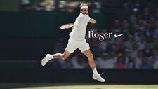 Nike roger Federer RF Wimbledon celebration tee/t-Shirt A00981-101
