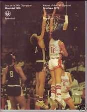 ORIGINAL PROGRAM MONTREAL 1976 OLYMPIC : BASKETBALL