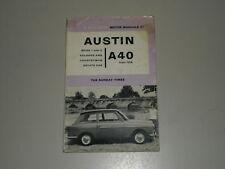 Reparaturanleitung Austin A40 MK I MK II Stand 1962