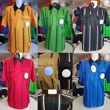 Premier KwikGoal Referee official soccer Jersey - blue green yellow black red