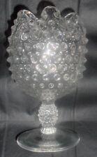 Clear Hobnail Rose Vase Hobnail Rose Bowl R5