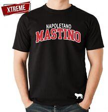 Mastino Napoletano Unisex T-Shirt Extreme Hundemotiv Italian Bulldog Presa