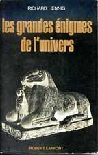 LES GRANDES ENIGMES DE L'UNIVERS - Richard Hennig - 1969