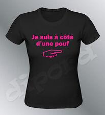T-shirt personalizzato io sono ha probabilità intero pouf S M L XL donna