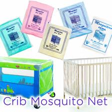 Crib Mosquito Net Mosquitero de Cuna Blue White Pink