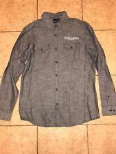 Jose Cuervo Tequila Gray Button Down Dress Shirt