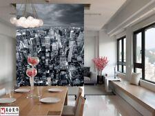 3D Black and white city WallPaper Murals Wall Print Decal Wall Deco AJ WALLPAPER