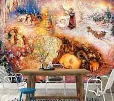 3D Pays De Rêve 2 Photo Papier Peint en Autocollant Murale Plafond Chambre Art