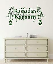 Wall Stickers Vinyl Decal Ramadan Kareem Islam Muslim Holiday (ig2056)