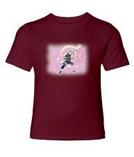 Naruto Sakura Haruno Men Women Crew Neck Unisex Short Sleeve Top Tee T-Shirt