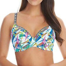 Freya Swimwear Tropicool Underwired Non Padded Plunge Bikini Top Multi 4512