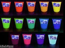 Zillah Minx Fluorescent UV blacklight glow Acrylic Ultra paint 30ml - 14 colours