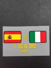 Spain EURO 2012 FINALS Jersey Match Details