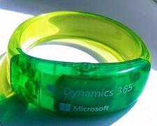 LED Light Wristband Bracelet Bangle Party Outdoor US I love Dynamics 2 Bracelet
