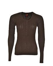 SUN68 Cardigan donna con bottoni - lavorazione a maglia intrecciata
