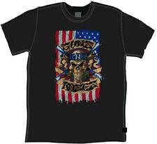 Guns N Roses Skull Vintage T-Shirt - Hard Rock band Axl Rose Slash Duff McKaga T