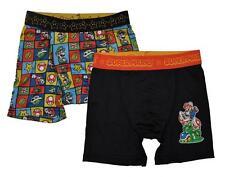 Super Mario garçons Pack 2 Multicolore Athlétique Caleçon Boxer taille 6 8