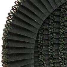 Fany 35mm Crochet Edge Pleated Cotton Trim - 1m