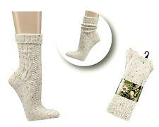 """Trachtensocken Socken  mit Wolle """"Tweedgarn"""" Schaft zum Umschlagen"""