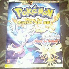Pokemon : How to Catch 'em All by Fletcher Black and Levi Buchanan 2005.