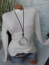 Corley Shirt Rolli Stehkragen Shirt Gr. 36 - 48 weiß offwithe (270) NEU