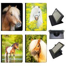 Azzumo Pony & Shetland Pony PU Leather Case for the eStar Tablet