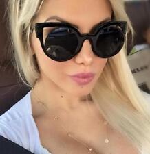 Big Fashion Cat Eye Geometric Magic Paradeyes Glasses Cut Out Sunglasses 6717 IT