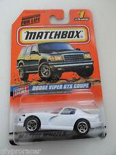 MATCHBOX #1 DODGE VIPER 1997 ISSUE