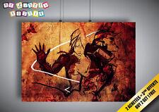 Poster Full Metal Alchemist Anime Manga Wall Art