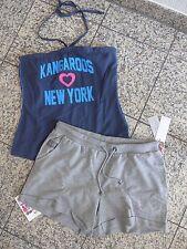 Kangaroos Short / BERMUDA + chemise taille 34 - 46 2 pièces (269) NEUF