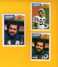1987 United Kingdom San Diego Chargers Set DAN FOUTS LEE WILLIAMS