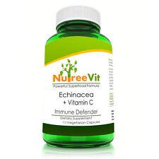 Pure Organic Echinacea + Vitamin C - Immune Defense