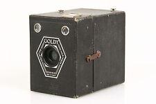 Goldy 6x9 Boxkamera mit Menisque Objektiv, Made in France