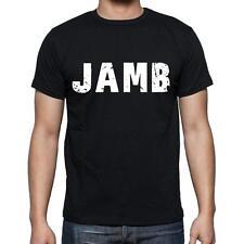 jamb Tshirt, Homme Tshirt, Col Rond Homme T-shirt, Noir, Cadeau