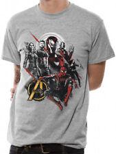 3011 Buona Mix T-Shirt Avengers Infinity Guerra Iron Man Thor Hulk Marvel
