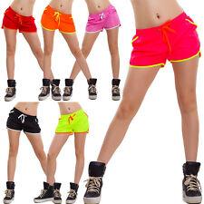 Pantaloncini donna shorts mare hot pants copricostume bicolore nuovo sexy 16320